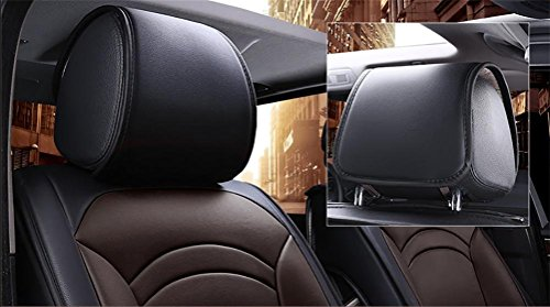 Set-Easy 5 seats car seat cushion filling and whole to clean leather Programmable Universal Fit seat covers car by YAOHAOHAO (Image #2)