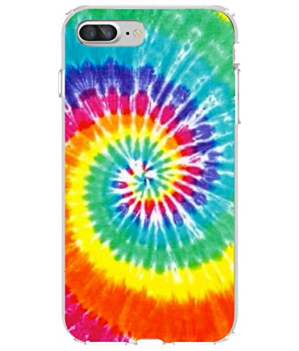 Shark Rainbow Tie Dye Pattern Clear Case Cover Skin for iPod Touch 5  (Ipod Touch 5 Tie Dye Case)