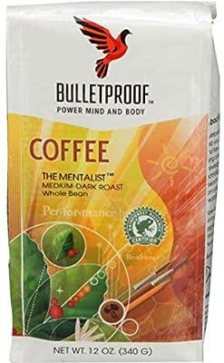 Bulletproof Coffee The Mentalist Whole Bean Coffee, 12 OZ by BPC