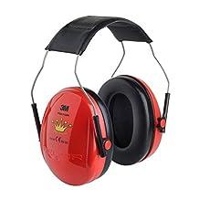 3M Peltor Optime Kid Little Princess Red Children Ear Muffs / Defenders