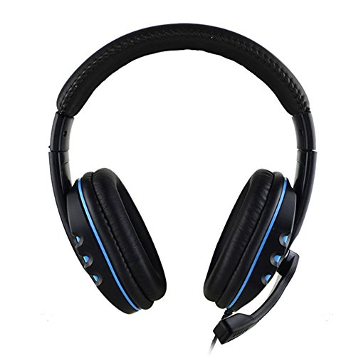 Headband Gaming Headset Comfortable Wired Over-head Stereo Headphone With Mic Microphone Noise Cancelling for PS4 PC Tablet Laptop Smartphone Review