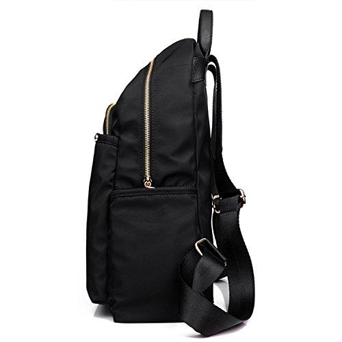 Young & Ming - Grandes Unisex Mujeres Hombre Impermeable Nylon Bolsos mochila Backpack Bolso Handbag morado