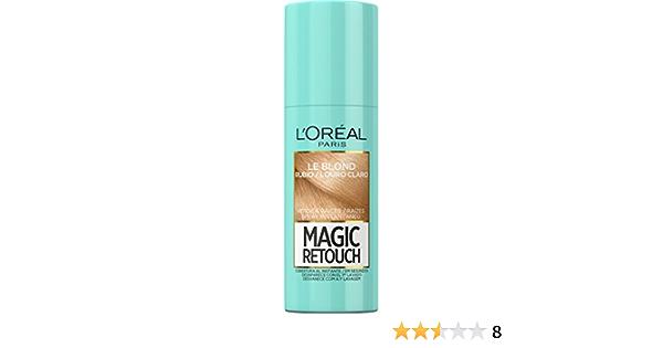 LOreal Paris Magic Retouch Spray Retoca Raíces Magic Rubio Claro - 75 ml