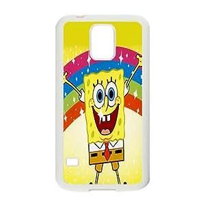 Happy SpongeBob Case Cover For samsung galaxy S5 Case