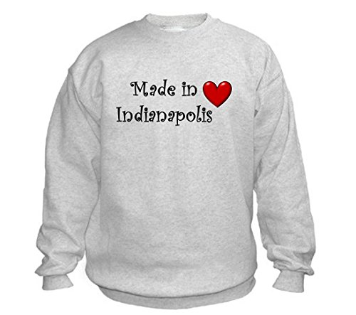 MADE IN INDIANAPOLIS - City-series - Light Grey Sweatshirt - size XXL for $<!--$24.99-->