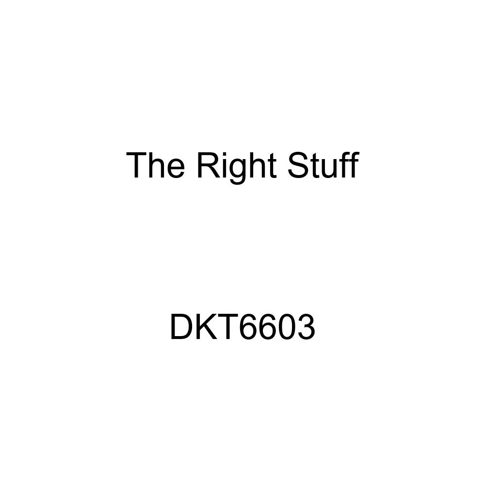 The Right Stuff DKT6603 Manual Disc Front Brake Line Kit 4 Piece