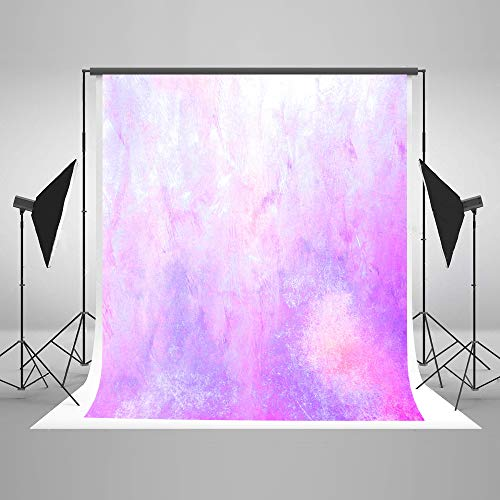 Kate 5×7ft Watercolor Abstract Photography Backdrop Purple Portrait Photo Background Cotton Cloth Photo Studio Booth Free Wrinkles Props