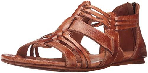 bed stu Women's Cara Huarache Sandal, Cognac Dip Dye, 8 M US F373034