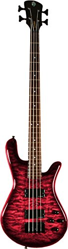 Spector Legend 4 Classic Bass Guitar (4 String, Black Cherry)