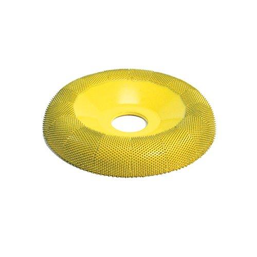 4'' Donut Wheel Round Face (Fine Grit) 7/8'' Bore