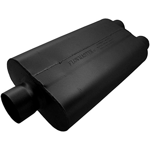 Flowmaster 9430502 50 Delta Flow Muffler - 3.00 Center IN / 2.50 Dual OUT - Moderate Sound