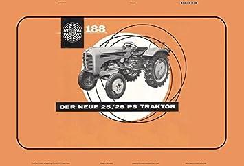 Dieselschlepper D15 Blechschild 30 X 20 cm Deutz