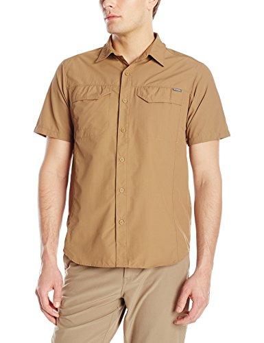 Columbia Men's Silver Ridge Short Sleeve Shirt, Delta, X-Large