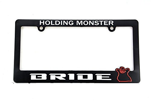 X1 BRIDE RACING License Plate Frame - For HONDA / ACURA UNIVERSAL INTEGRA ()