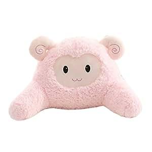 Amazon Com Cute Sheep Bedrest Back Support Pillow Plush