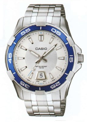 97aba645c3d1 Casio General de hombre Relojes analógico estándar mtd-1063d-7avdf - WW   Amazon.es  Relojes