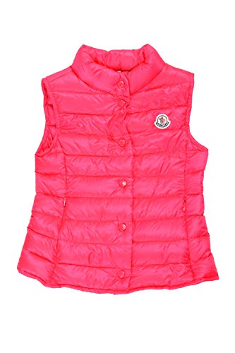 Moncler Girl's Liane Pink Down Light Sleeveless Parka Jacket Vest Moncler Size 5A US 5 Years ()