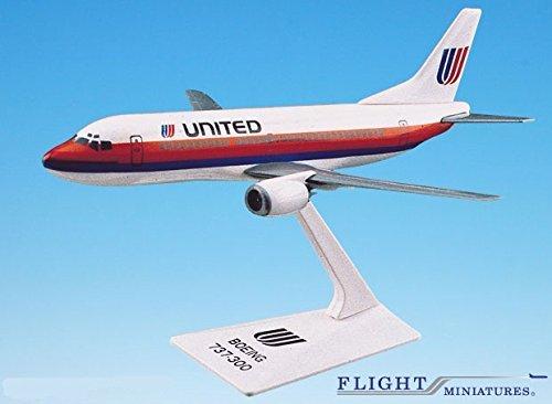 united 737 model - 2