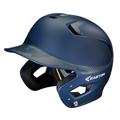(Easton Junior Z5 2 Tone Basecamp Batting Helmet, Navy )