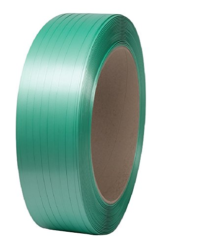 Signode 2X2233 Tenax 3/4X040 EMB High-Strength Embossed Polyester Strapping, 46 lb. Coil Weight, 3/4
