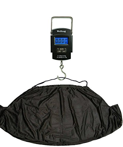 Fishing Weighing Electronic Digital Scale 50KG and NGT Carp Weigh Sack...