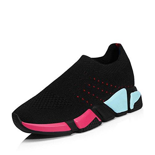 d'été athlétique Chaussures RoseG Gym Chaussures Sport Confortable Femme Sneakers Mixte Homme Adulte Fitness Baskets pour Respirantes 1BPqwxyRB0