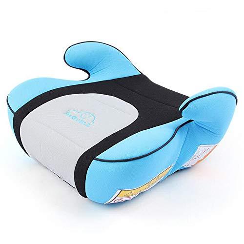 Portable Baby Kids Backless Safe Booster Children Travel Car Seat Cushion Ergonomic Design with Adjustable Safety Belt Protection