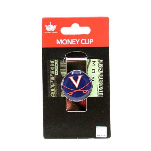 aminco NCAA Virginia Cavaliers Domed Money Clip