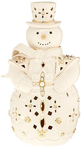 Lenox 867256 Florentine & Pearl Snowman Lit Figurine