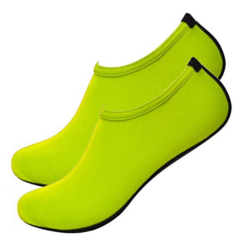 Barefoot Green Beach Footwear Catnew Trainers Skin Sandals Diving Shoes Socks L Fluorescent Sport ax04qB