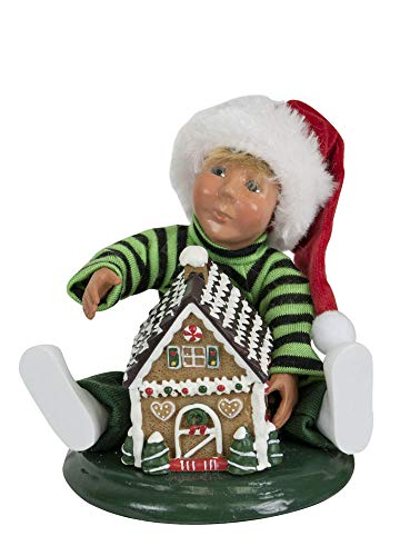 Byers' Choice Toddler w/Gingerbread #1824 (New 2019)