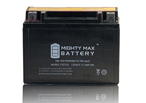 YTZ12S 12V 11AH Battery for Honda 750 VT750C, Shadow Spirit (750 Shadow)