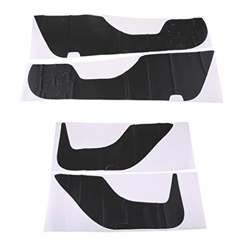 Flameer 4pcs Car Door Edge Guard Protector Anti-Kick Sticker for Honda Accord 14-17