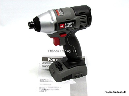 Porter Cable 18V 18 Volt Cordless Impact Driver Drill w/ 1/4'' Hex Chuck PC1800ID .#GH45843 3468-T34562FD455182 by Nessagro