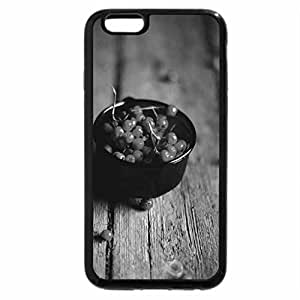 iPhone 6S Plus Case, iPhone 6 Plus Case (Black & White) - rowan berries