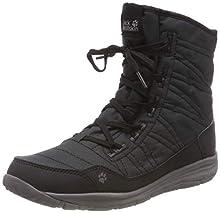 Jack Wolfskin Portland Boot W, Zapatos de High Rise Senderismo Mujer, Negro (Black 6000), 40 EU