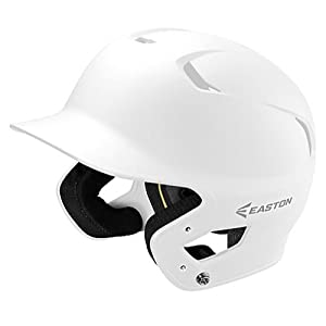 EASTON Z5 2.0 Batting Helmet | Senior | Matte White | Baseball Softball | 2019 | Dual-Density Impact Absorption Foam | High Impact Resistant ABS Shell | Moisture Wicking BioDRI Liner