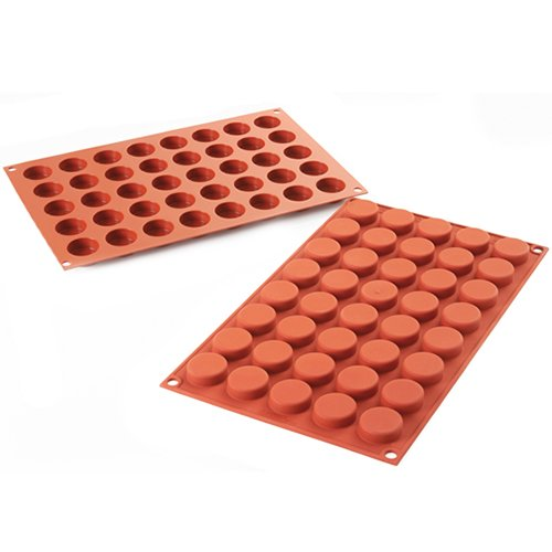 Silikomart Professional Silicone Baking Mold, Pastille 40 Cavities (1 Each)