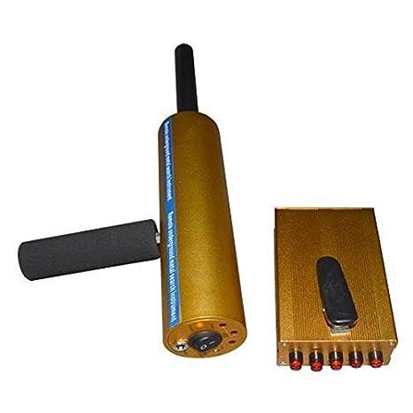 mark8shop AKS 3d Professional Detector De Metal Dorado Detector Detector de oro largo alcance y diamantes: Amazon.es: Hogar