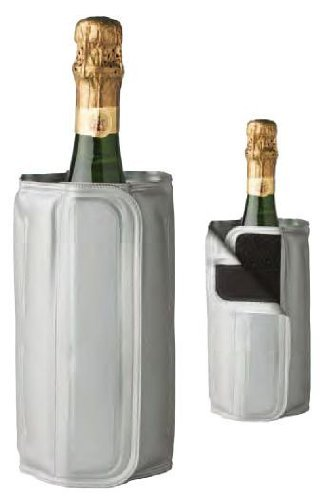 (Deluxe Bottle Cool Chiller Sleeve for Wines and Champagnes.)
