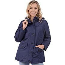Minus Zero Ladies Hooded Polar Lined Quilt Winter Jacket