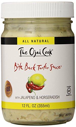 The Ojai Cook Bite Back Tartar Sauce, 12 Ounce (Pack of 2) (Best Tartar Sauce Ever)
