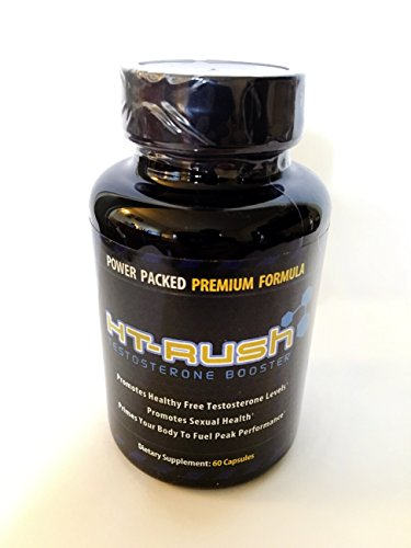 HT Rush Natural Testosterone Booster Count product image