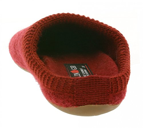 Haflinger Everest All Over donne oltre pantofole rosse 484011 0 42