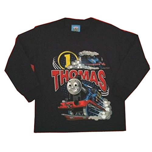 (Thomas The Tank Engine Boy's %100 Percent Cotton Long Sleeve T-shirts (2T, Circle one)