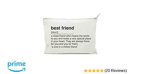com best friend gift toiletry bag for best friend
