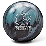 Brunswick Rhino Reactive Bowling Ball- Metallic Blue/Black