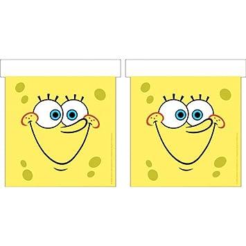 Procos Spongebob Surfing Die-Cut Flag Banner [Importación ...