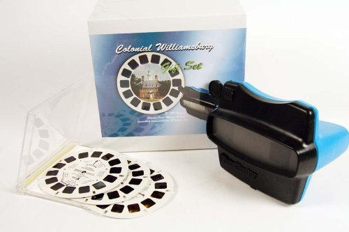 Colonial Williamsburg ViewMaster Gift Set - Viewer and 3D Reels - Images in 3D