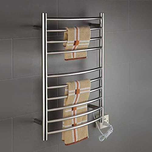 LY7 Towel Heater 10-bar Warmer Drying Rack Electric Waterproof Towel Heated Rack Constant Temperature Energy Saving Bathroom Radiator (Best Radiators For Bathrooms)